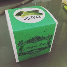 dill pickle bath bomb box