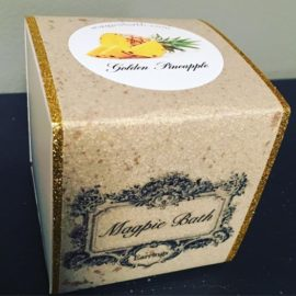 golden pineapple box