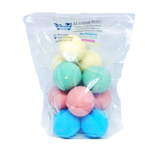 mini bath bomb set