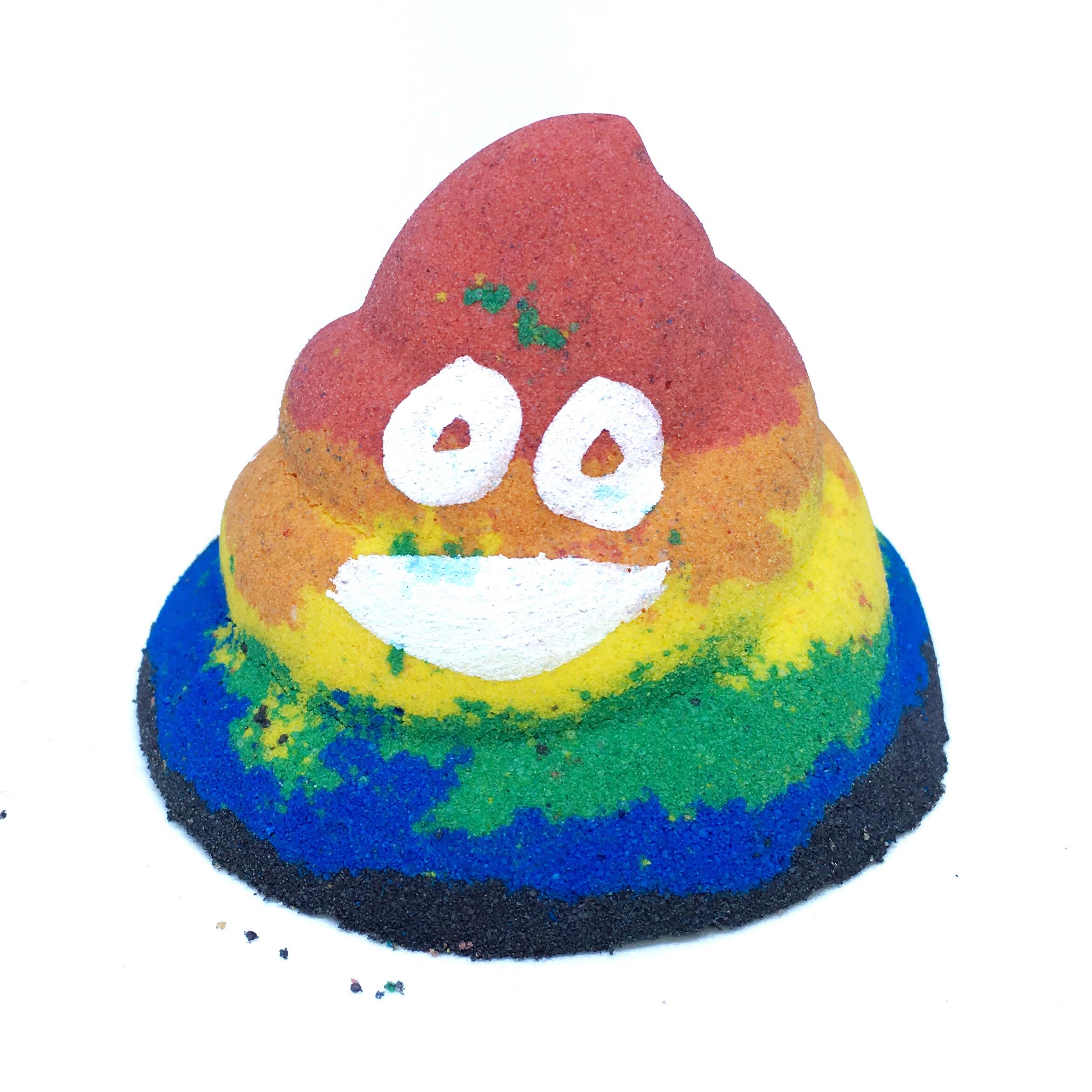 Poop Emoji Bath Bomb * Magpie Bath