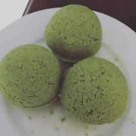 matcha bath bombs